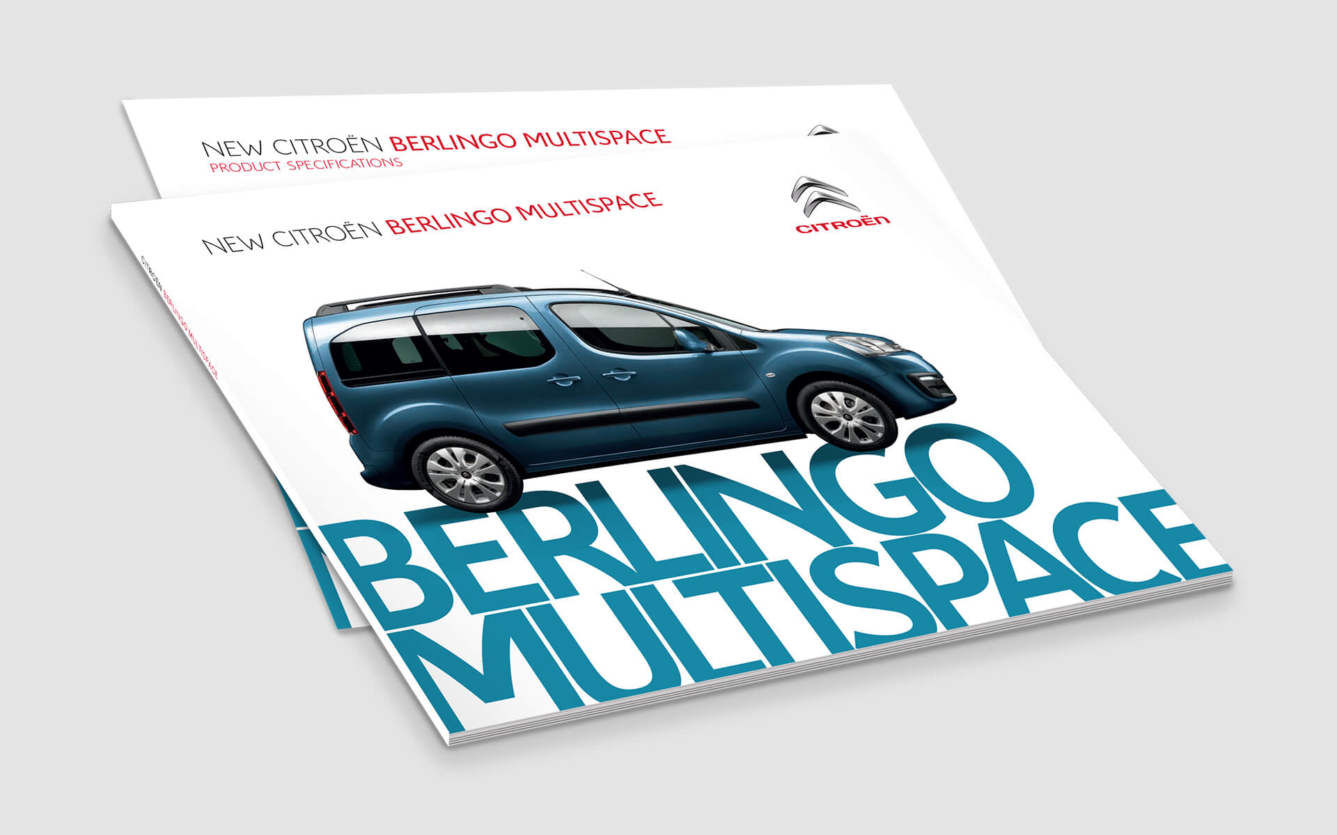 Citroen brochures berlingo multispace