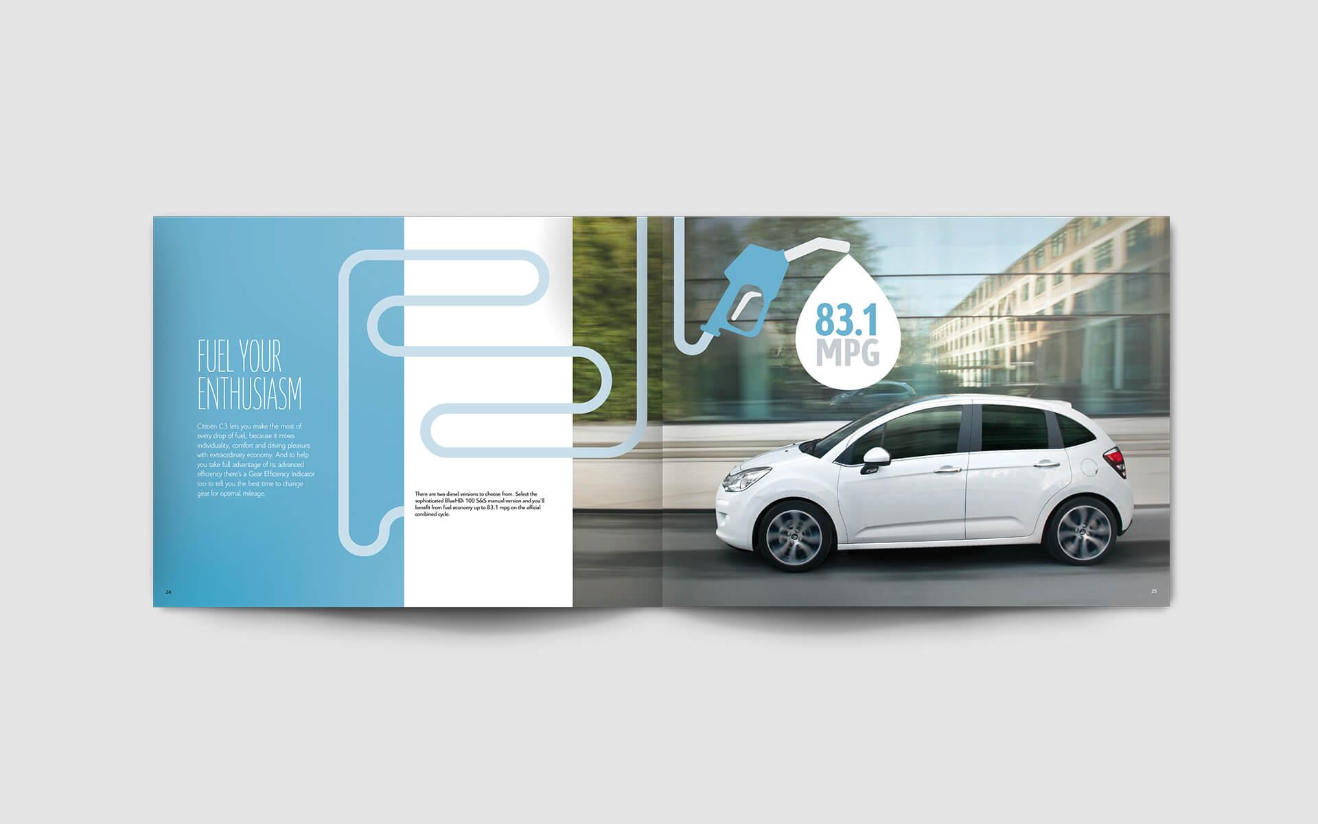 Citroen brochures c3
