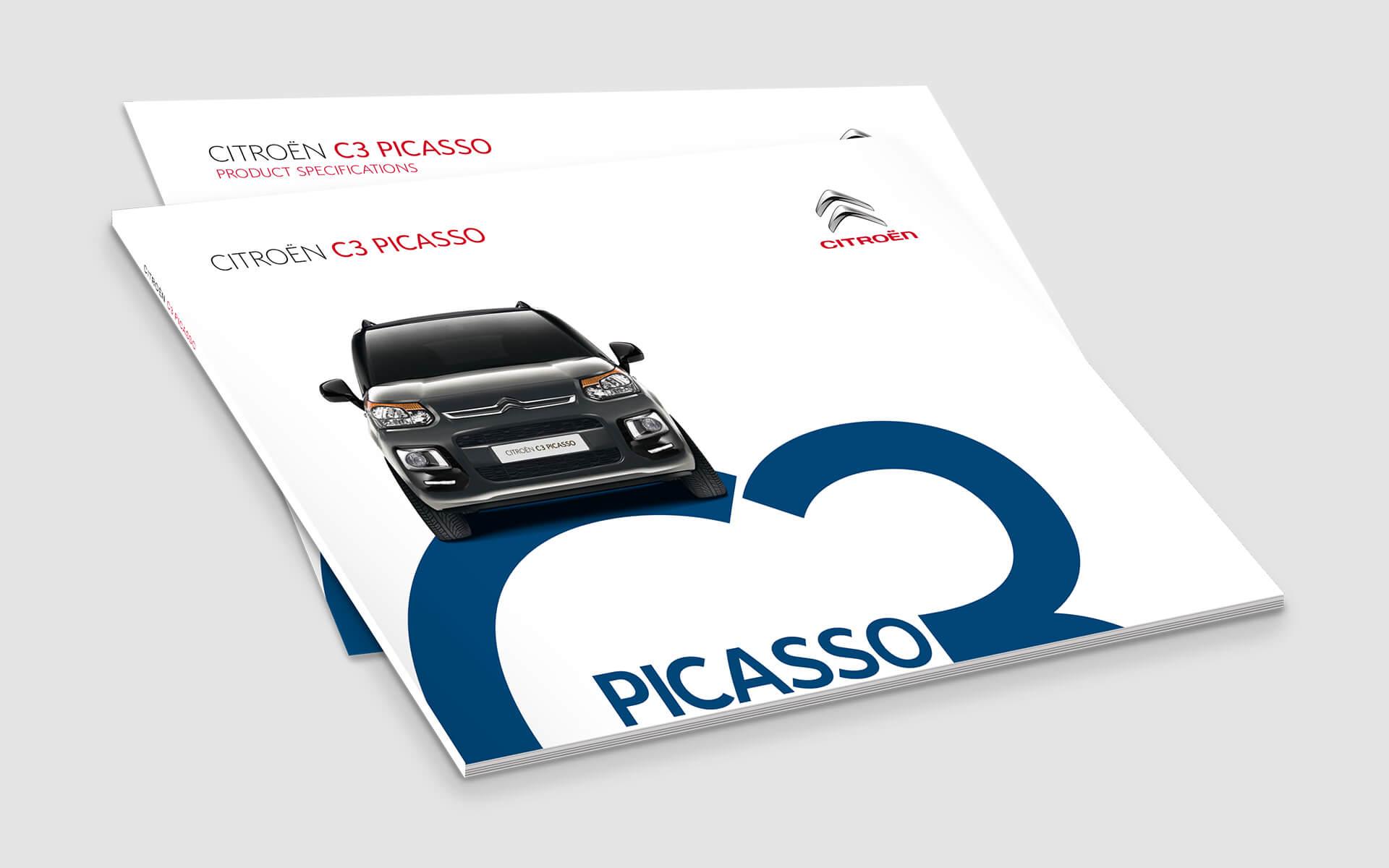 Citroen brochures c3 picasso