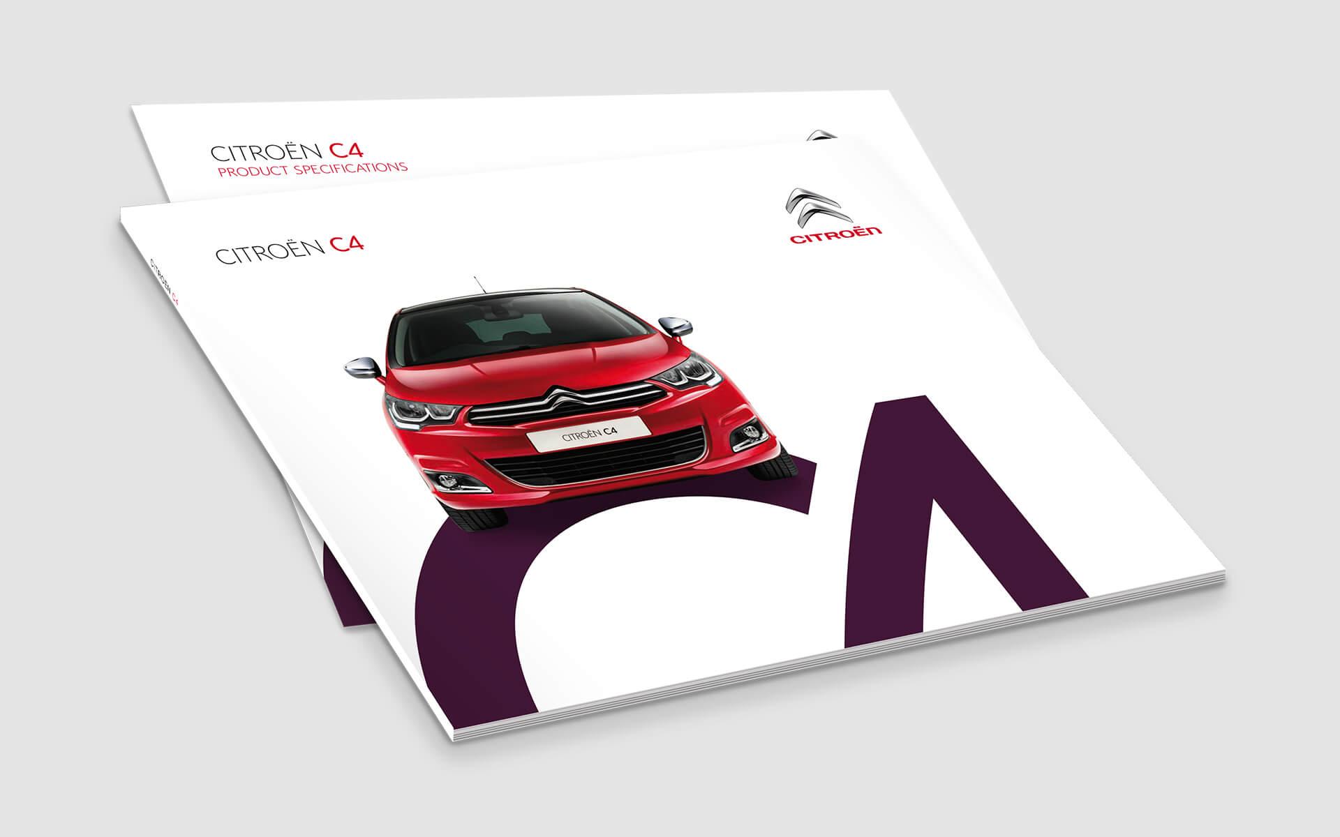 Citroen brochures c4