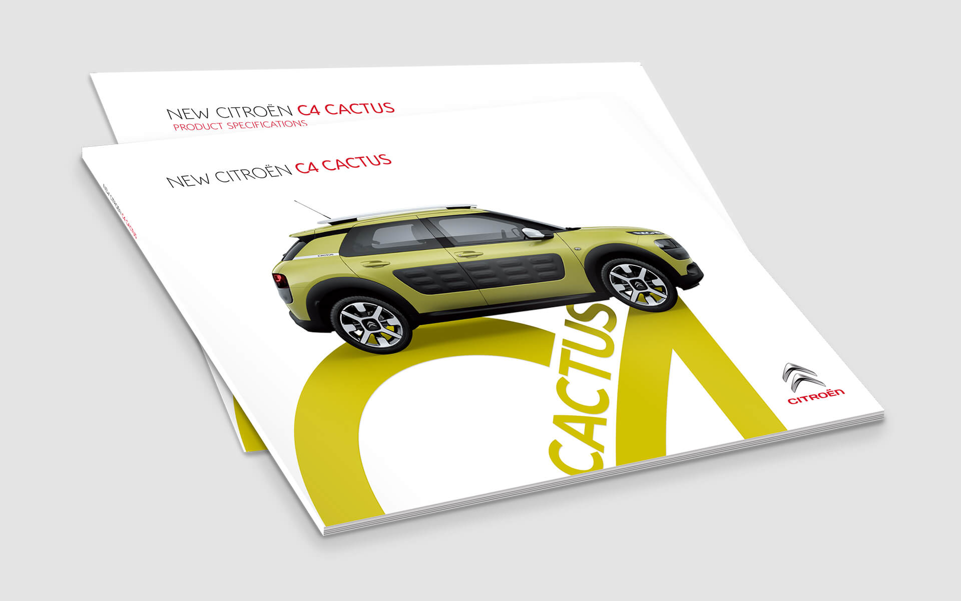 Citroen brochures c4 cactus
