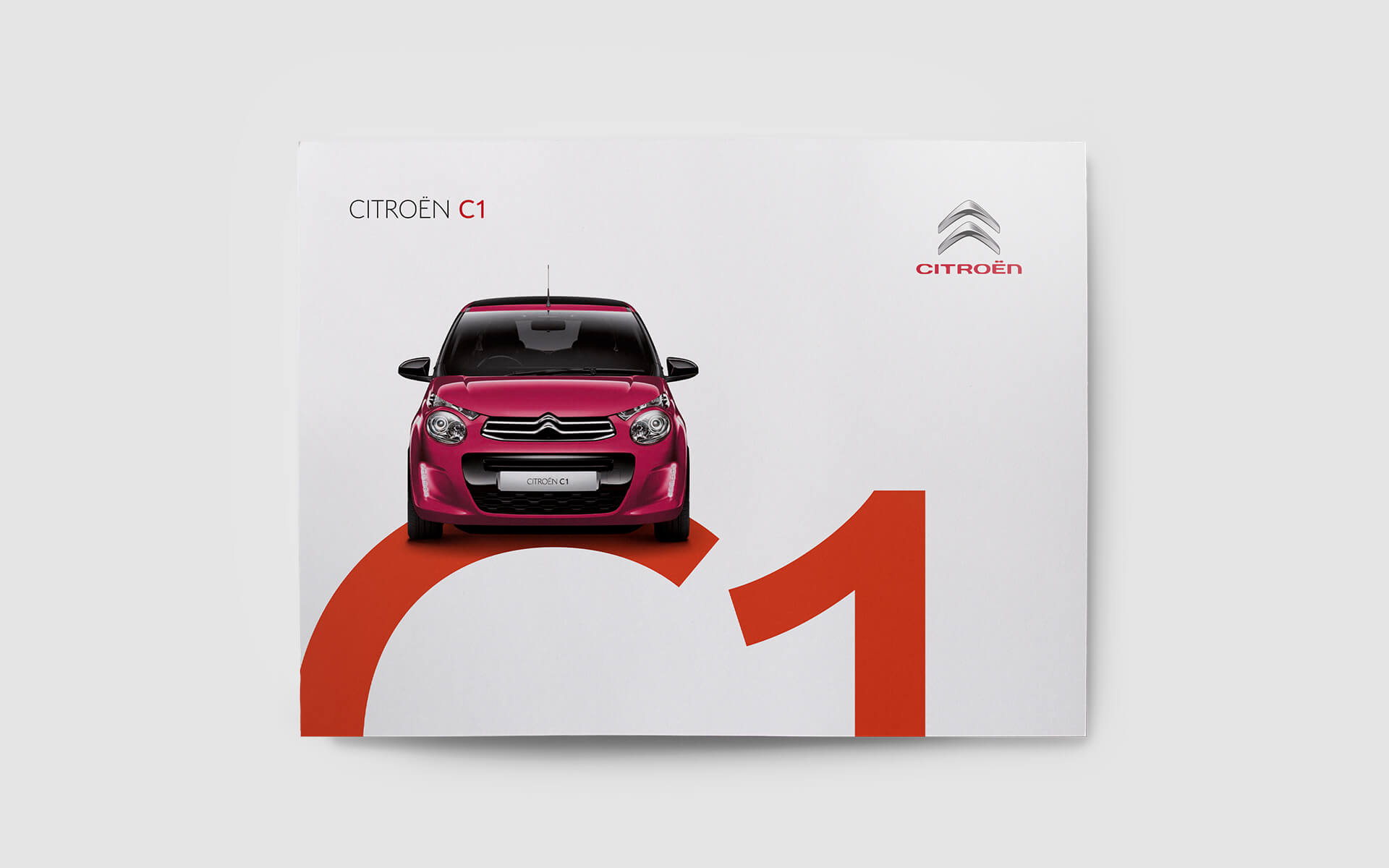 Citroen C1 brochure cover