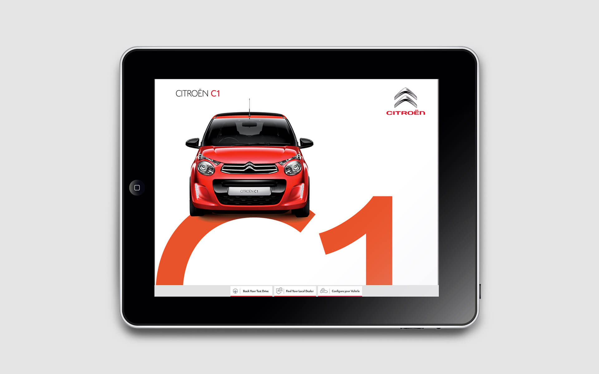 Citroen C1 brochure interactive