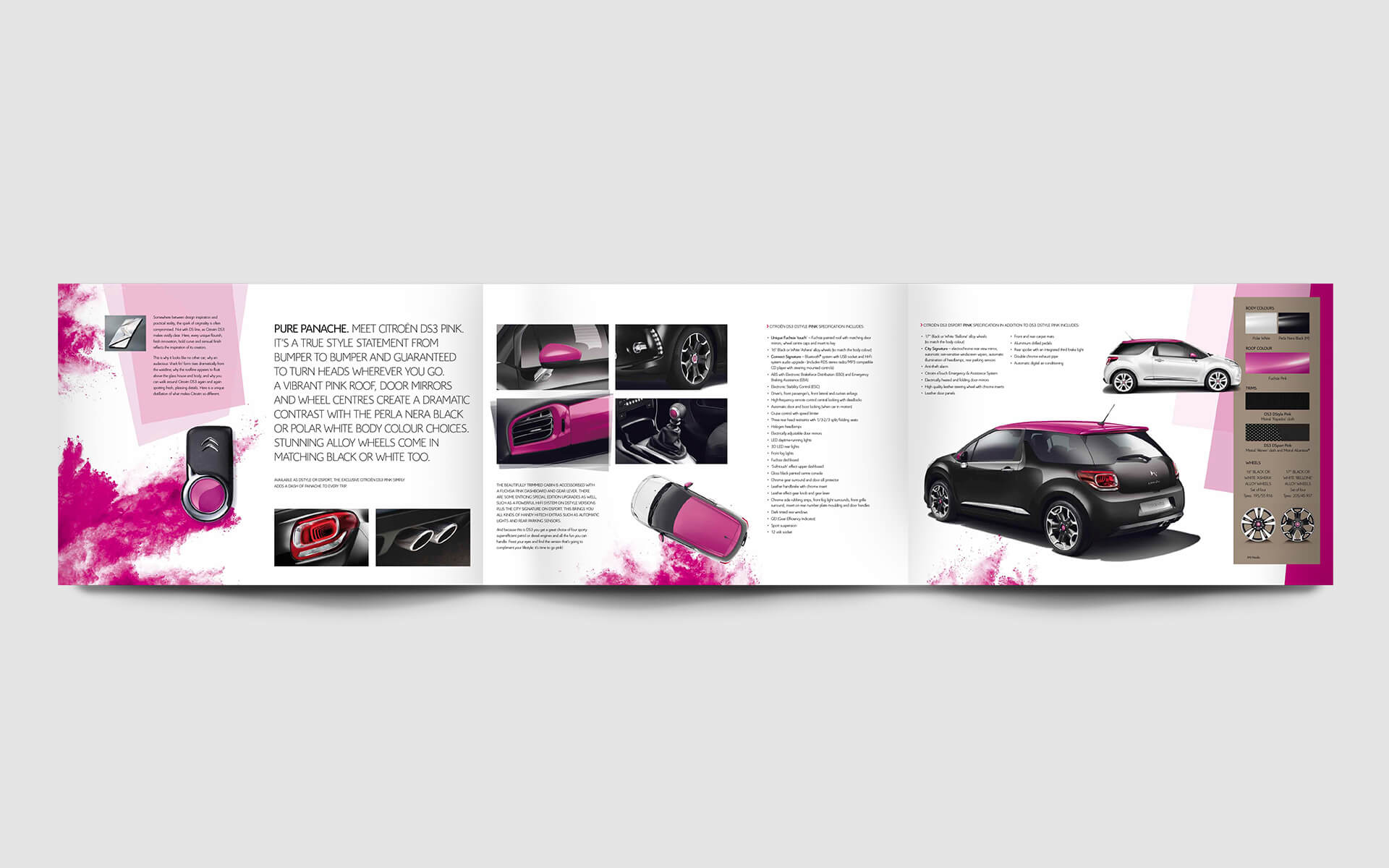 DS3 Pink Brochure spread 3