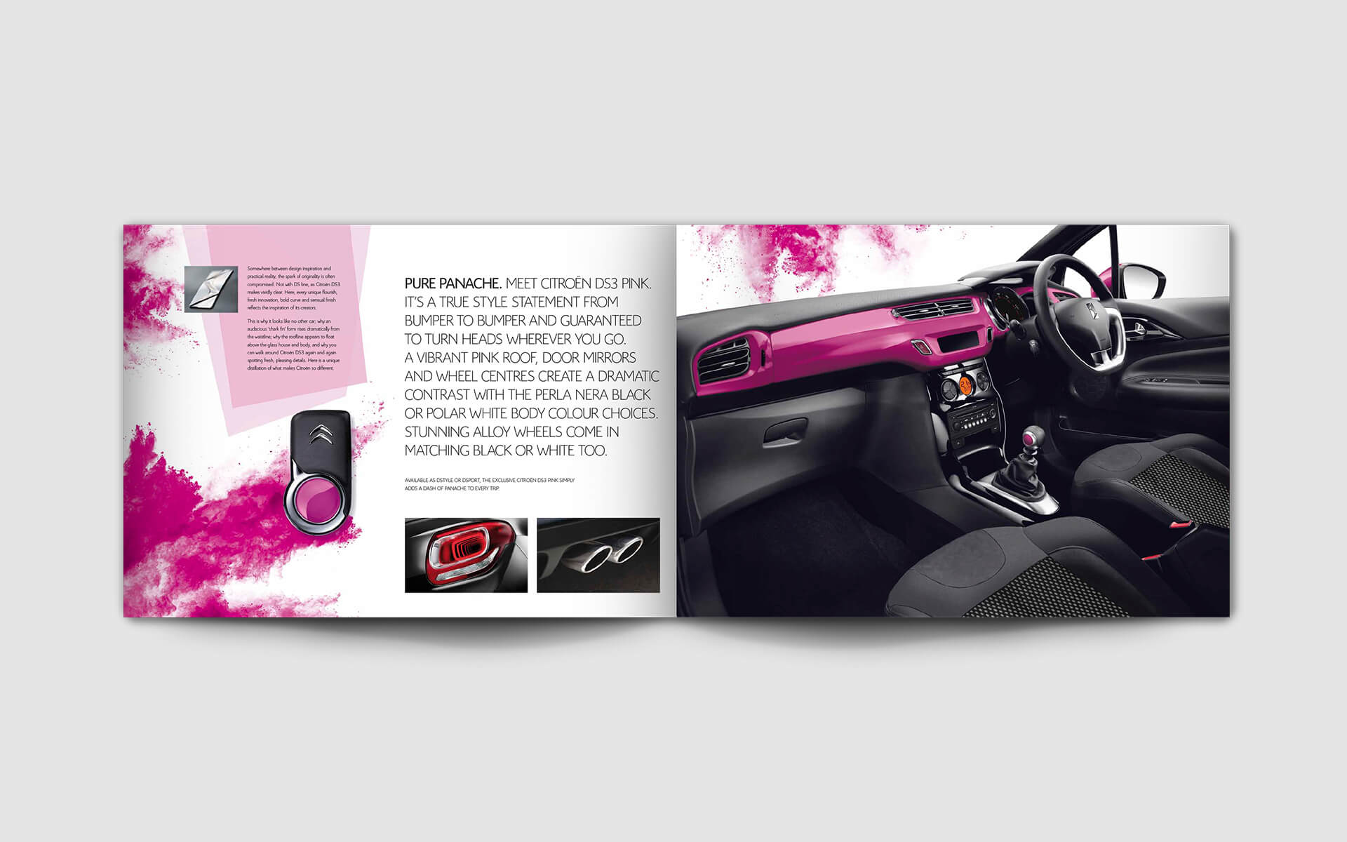 DS3 Pink Brochure spread